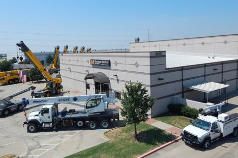 Dallas Crane Facility Photo Aug 2015 3